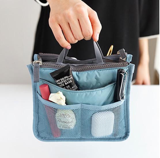 Органайзер для сумки Compact Dual Bag In Bag голубой