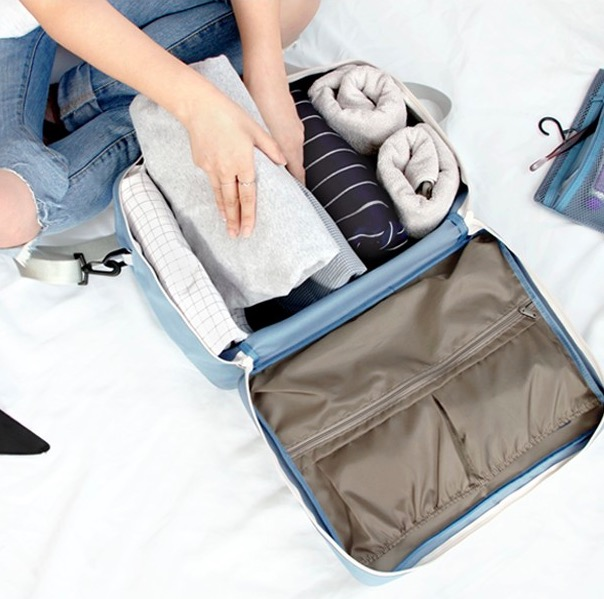 Сумка-органайзер ICONIC Two way trunk bag голубая