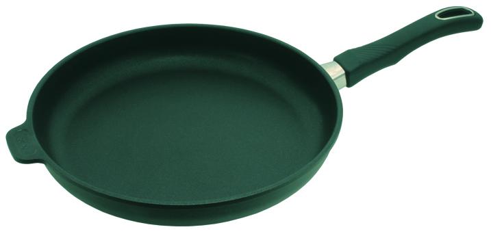 Сковорода индукционная низкая 28 см, h=4см со съемной ручкой Gastrolux Черный