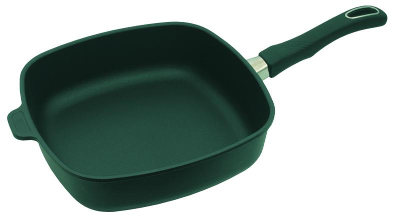 Сковорода высокая 26x26 см, h=7см со съемной ручкой Gastrolux Черный