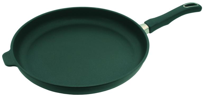 Сковорода низкая 32 см, h=4см со съемной ручкой Gastrolux Черный