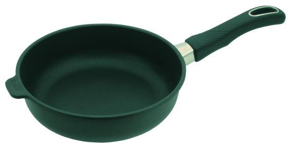 Сковорода высокая 20 см, h=7см со съемной ручкой Gastrolux Черный