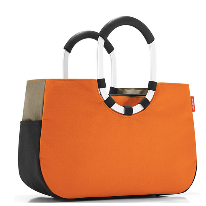Сумка Loopshopper M patchwork pumpkin Reisenthel
