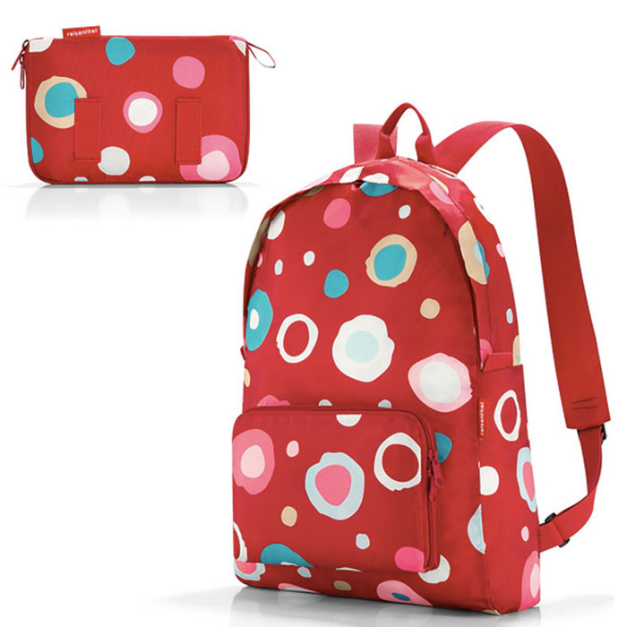 Рюкзак складной Mini maxi funky dots 2 Reisenthel