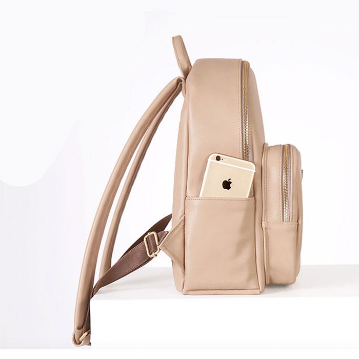 Рюкзак бежевый женский как правильно отрегулировать туристический рюкзак