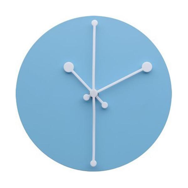 Часы настенные dotty голубые