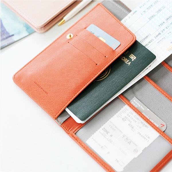 Холдер для документов - оранжевый