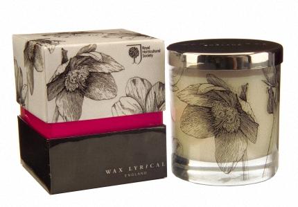 Свеча ароматическая в стеклянном стакане Морозник коллекция Челси Wax Lyrical