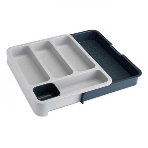 Органайзер для столовых приборов Joseph Joseph DrawerStore™ раздвижной серый