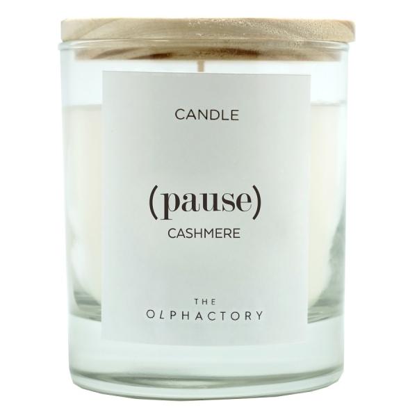 Свеча ароматическая pause-Кашемир, 30 ч