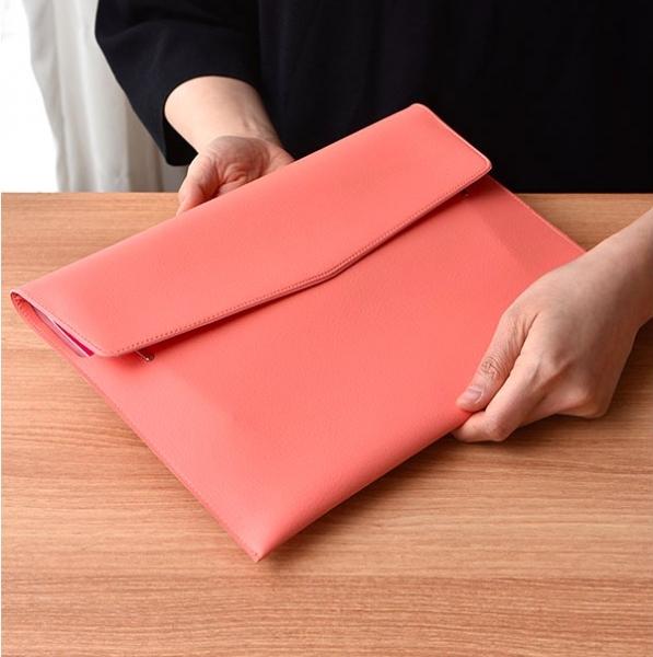 Папка-органайзер Extra Openning Clutch Plepic розовая