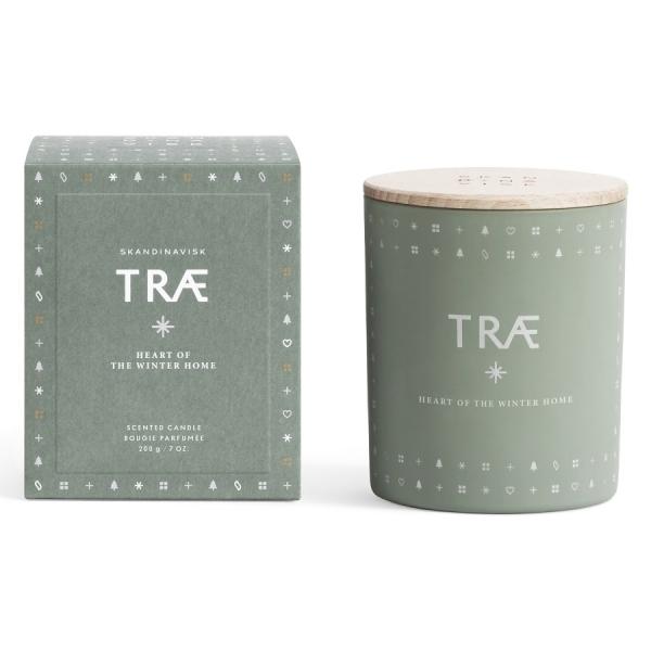 Свеча ароматическая trae с крышкой, 200 г