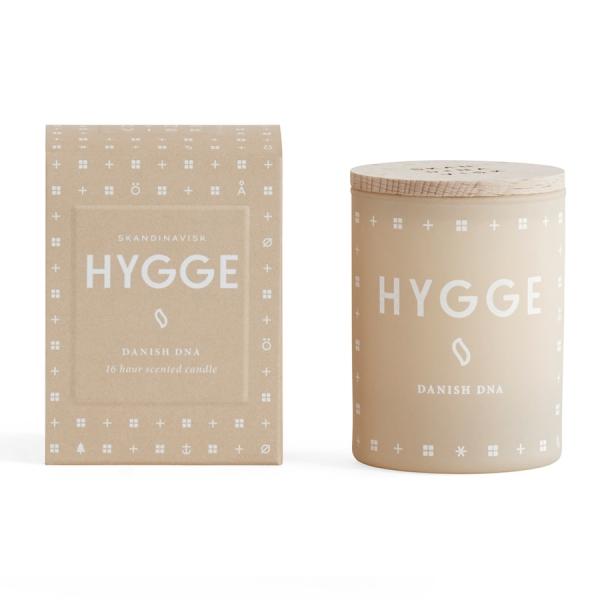 Свеча ароматическая hygge с крышкой, 55 г