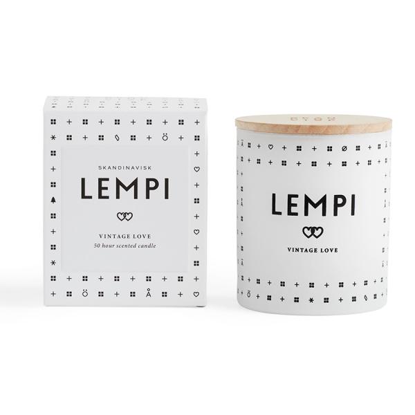 Свеча ароматическая lempi с крышкой, 190 г