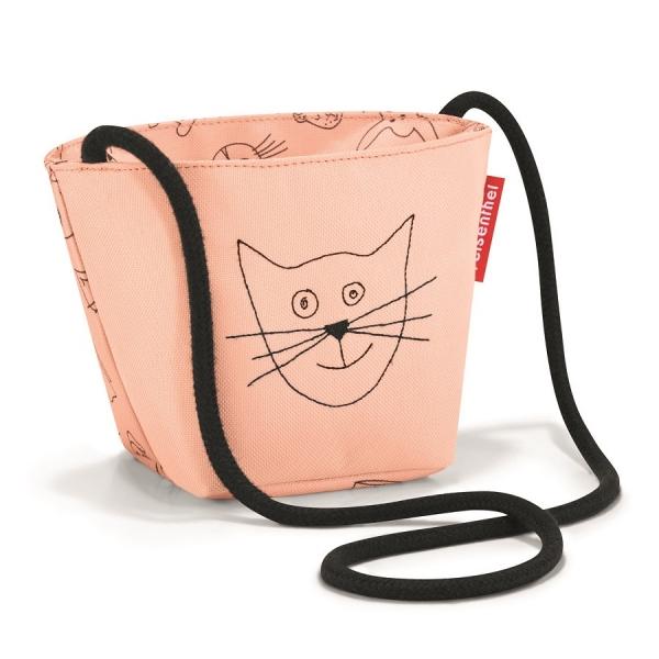 Сумка детская minibag cats and dogs, розовая