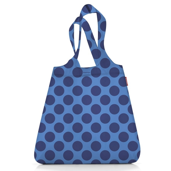 Сумка складная mini maxi shopper summer blue dot