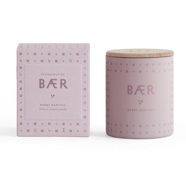 Свеча ароматическая baer с крышкой, 190 г