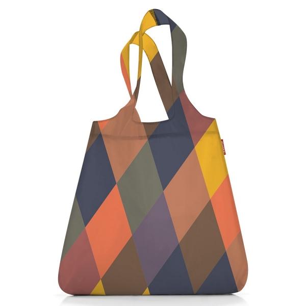 Сумка складная mini maxi shopper summer rhomb dark