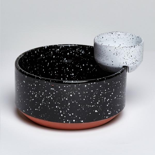 Чаша сервировочная eclipse для снеков и соуса