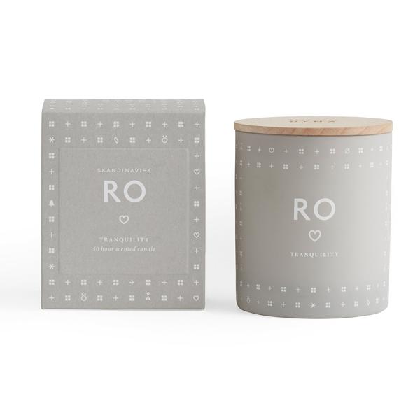 Свеча ароматическая ro с крышкой, 190 г
