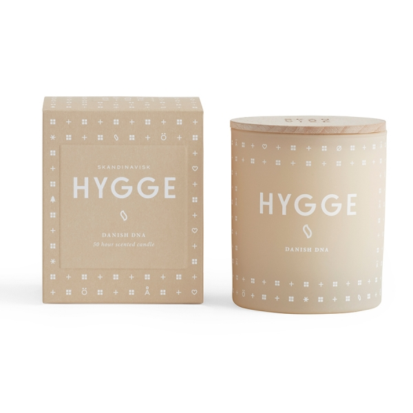 Свеча ароматическая hygge с крышкой, 190 г