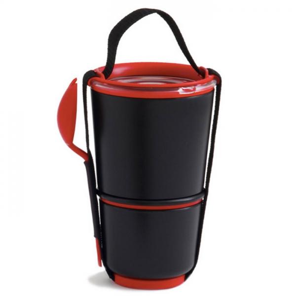 Ланч-бокс Lunch Pot черный Black+Blum