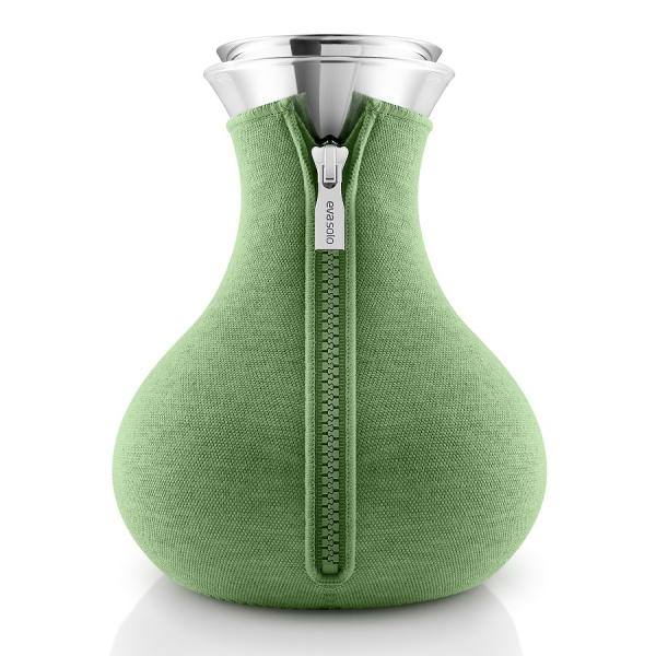 Чайник заварочный tea maker в неопреновом текстурном чехле 1 л  светло-зелёный