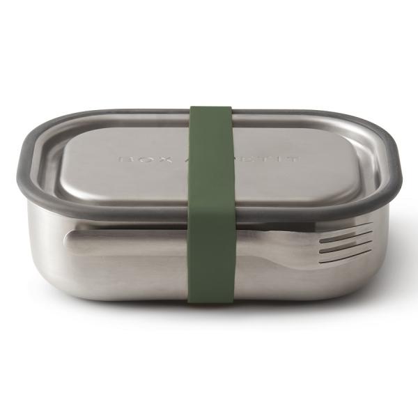Ланч-бокс стальной оливковый