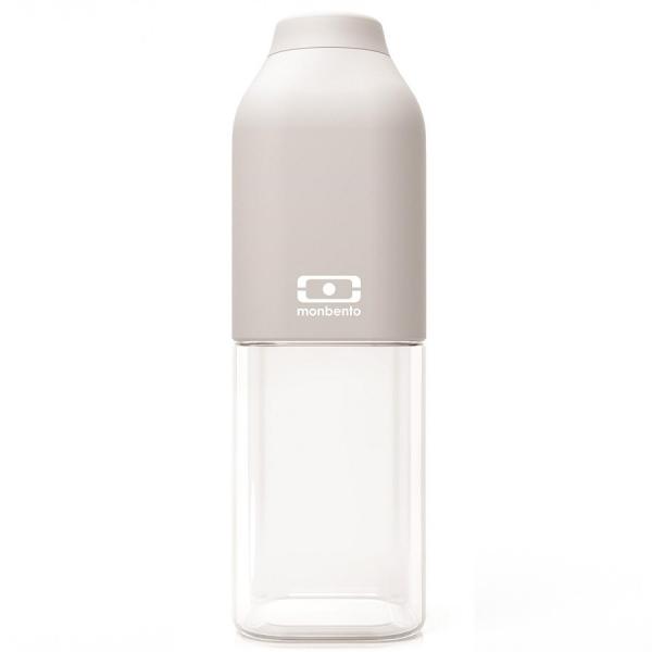 Бутылка mb positive 0,5 л, светло-серая