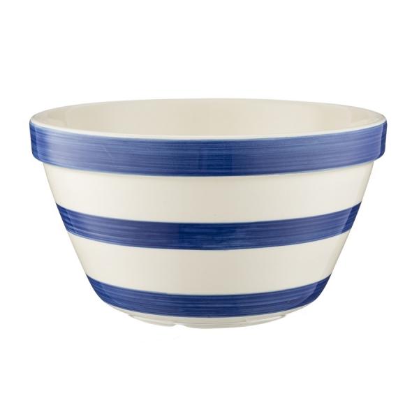 Миска универсальная stripes 16 см синяя