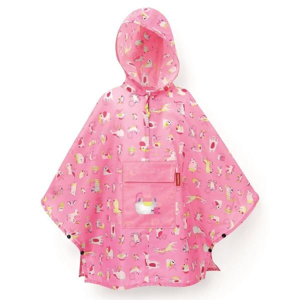 Дождевик детский ABC friends pink