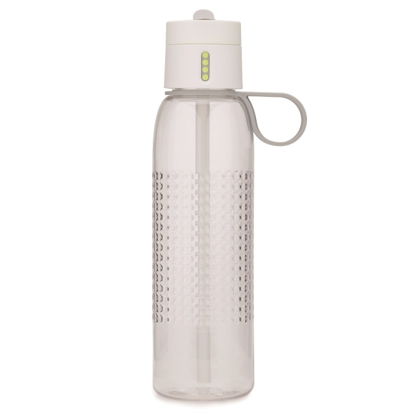 Бутылка для воды dot active 750 мл белая