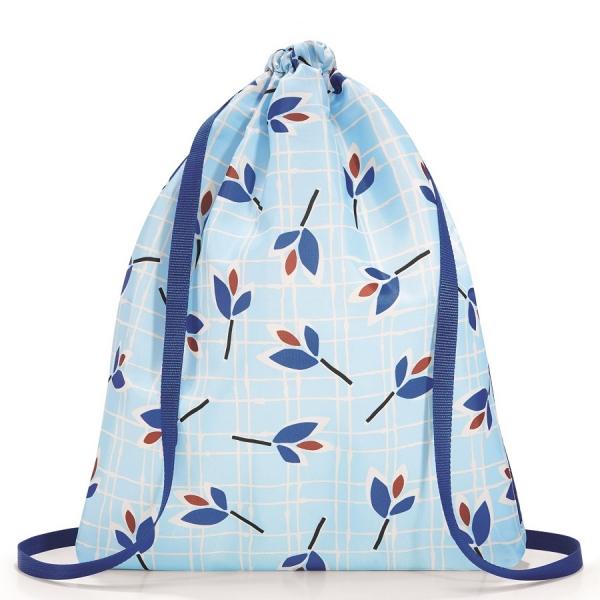 Рюкзак складной mini maxi sacpack leaves blue
