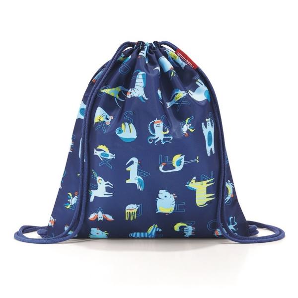 Мешок детский mysac abc friends blue