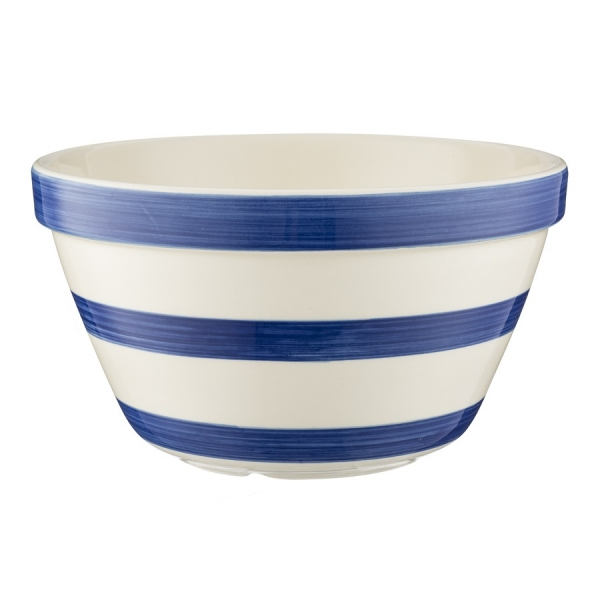 Миска универсальная stripes 20 см синяя