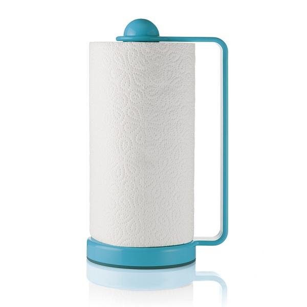 Держатель для бумажных полотенец forme casa голубой