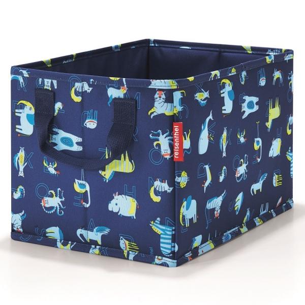 Коробка для хранения детская storagebox abc friends blue