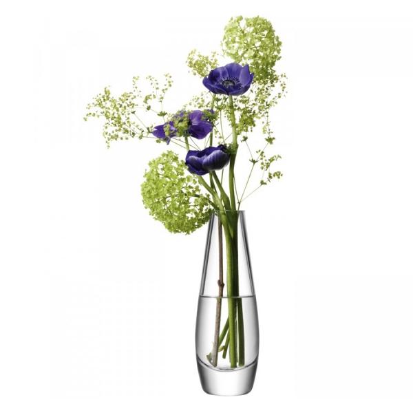 Ваза округлая высокая flower 17 см