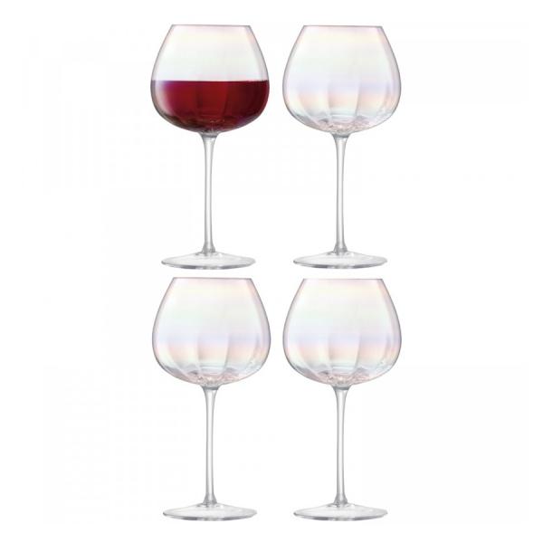 Набор из 4 бокалов для красного вина pearl 460 мл