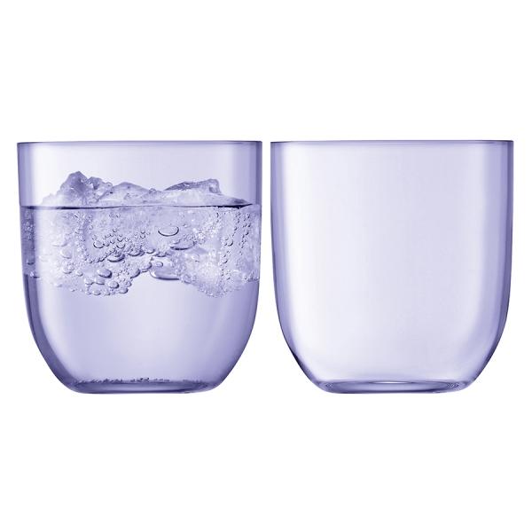 Набор из 2 стаканов hint 400 мл фиолетовый