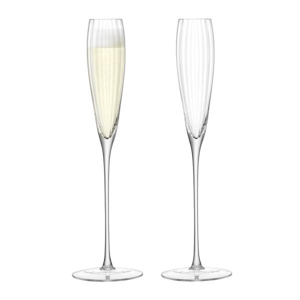 Набор из 2 бокалов-флейт для шампанского aurelia 165 мл