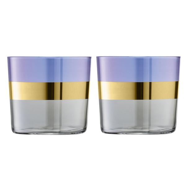 Набор из 2 стаканов bangle 310 мл фиолетовый