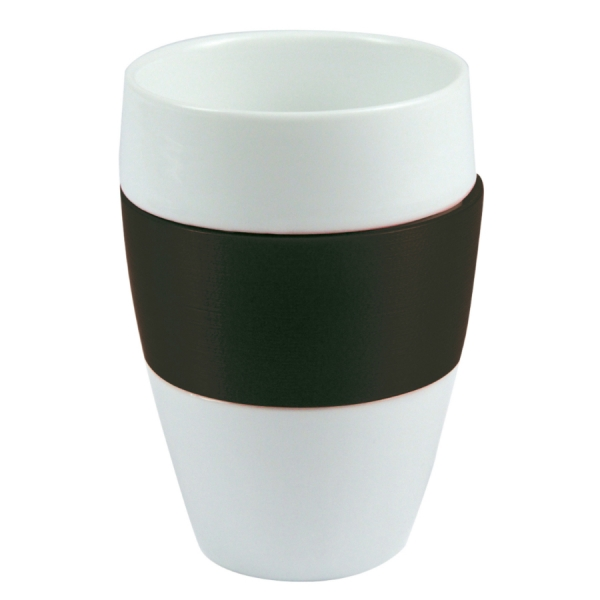 Чашка aroma, 400 мл, чёрная