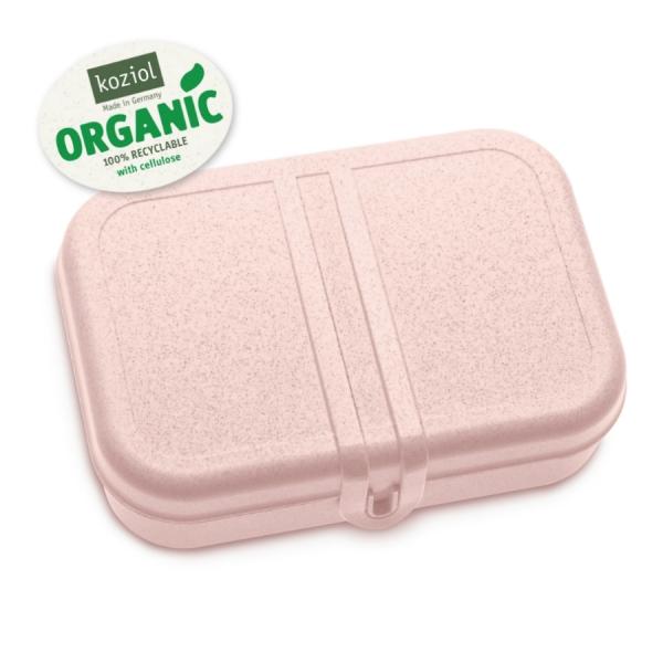 Ланч-бокс pascal l organic, розовый