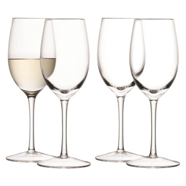 Набор из 4 бокалов для белого вина wine, 260 мл