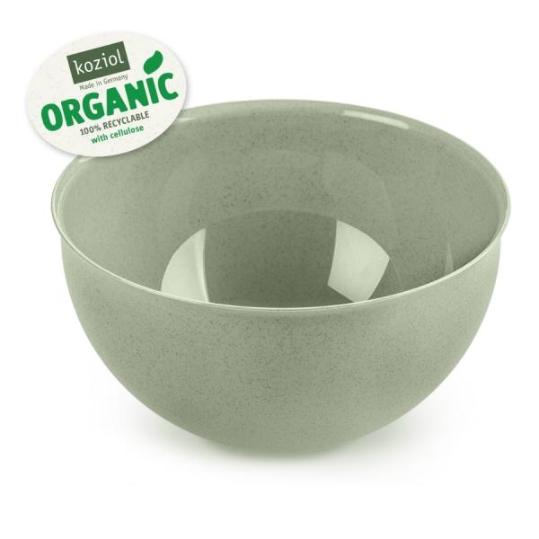 Миска palsby m organic, 2 л, зелёная