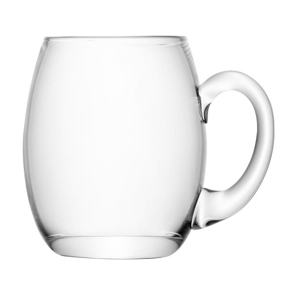 Кружка для пива высокая округлая bar 500 мл