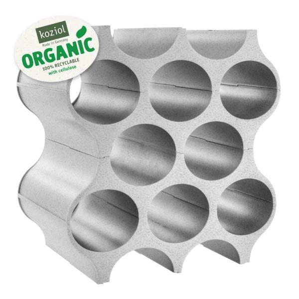Подставка для бутылок set-up organic, серая