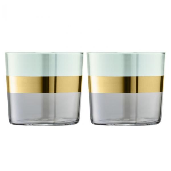 Набор из 2 стаканов bangle 310 мл зелёный