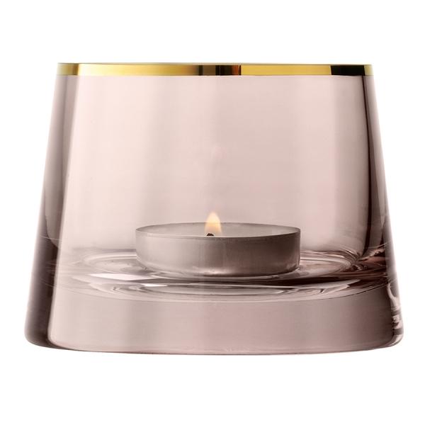 Подсвечник для чайной свечи light 6,5 см коричневый